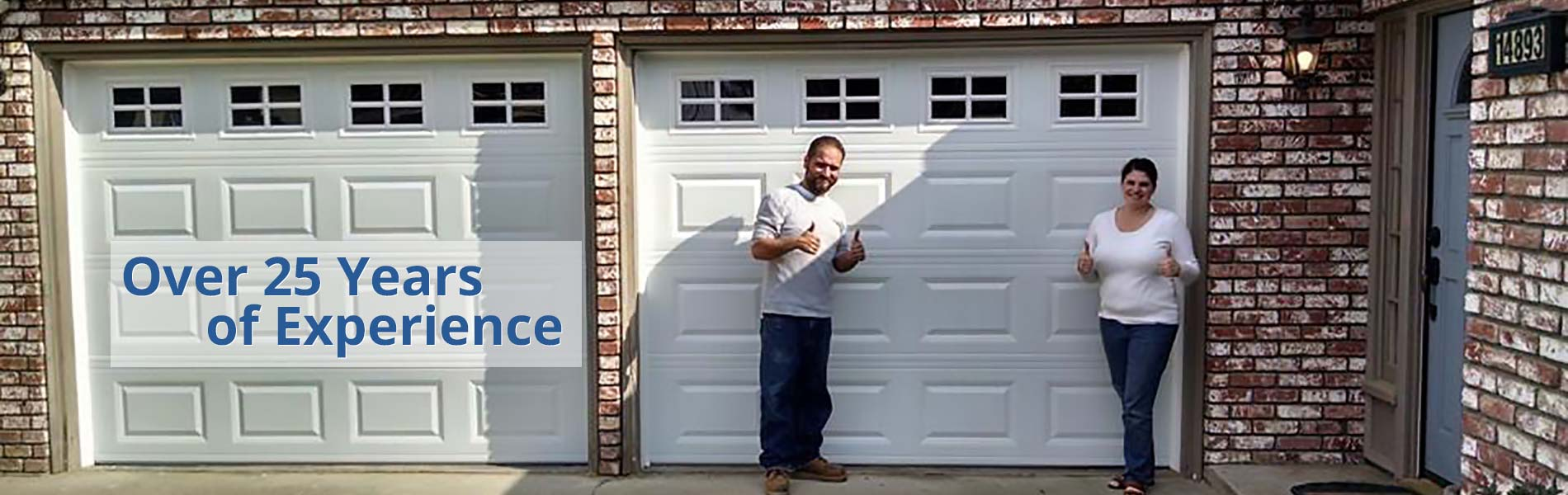 Visalia CA Garage Door Repair Installation 1
